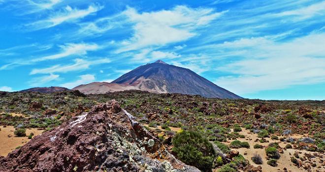 Bild Vulkan Teide