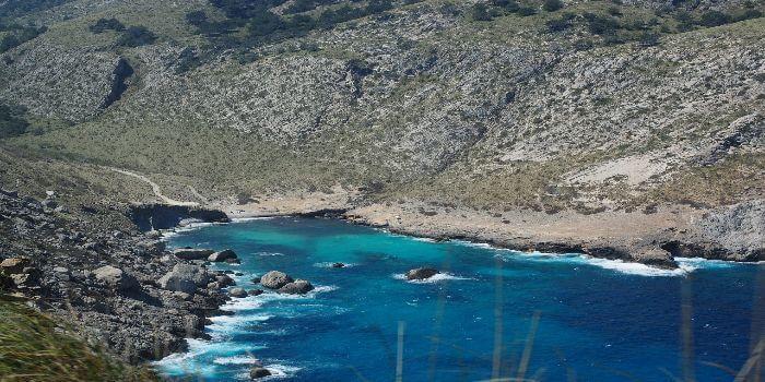 Bild von der Bucht Cala Figuera