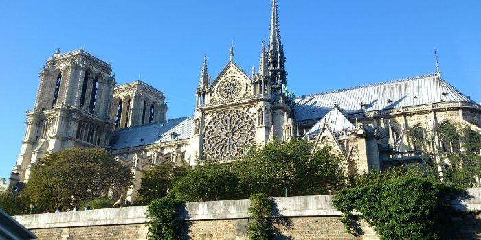 Bild von der Kathedrale Notre Dame Paris