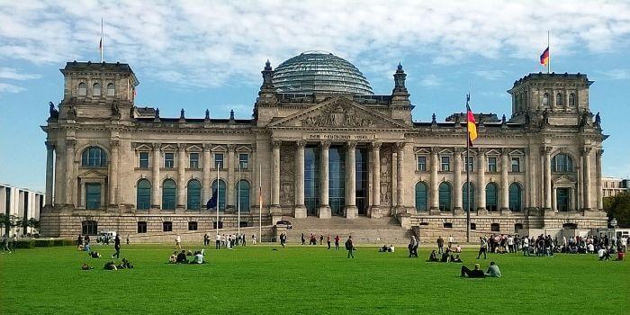 Bild vom Berliner Reichstag